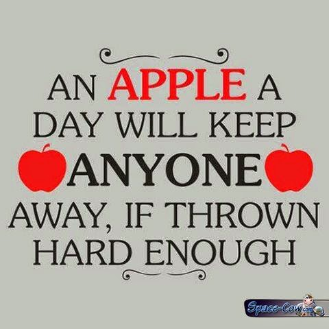 funny apple message picture