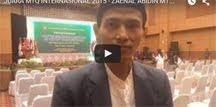 JUARA MTQ INTERNASIONAL 2015 - ZAENAL ABIDIN MTQ INTERNASIONAL DI INDONESIA,PENAMPILAN zaenal abidi