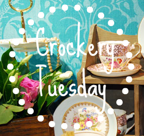 Crockery Tuesday Linky