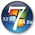 Perbedaan Antara Windows 7 32 Bit Dengan 64 Bit