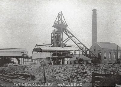 Rising Sun Pit 1910, Wallsend