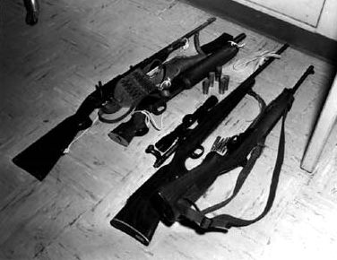 whitman s weapons in august 1966 whitman opened fire from
