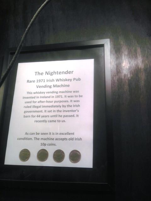 the winos wine guide nightender rare 1971 irish whiskey pub