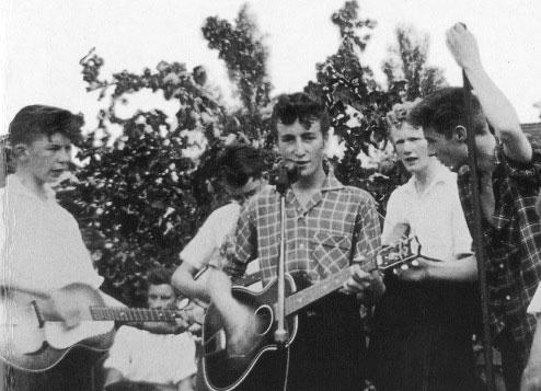 The Quarry Men - John Lennon - 1957