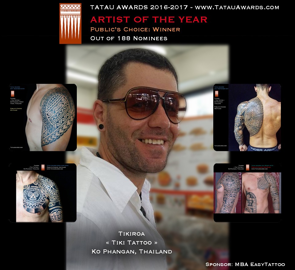 winner tatau of the year 2016