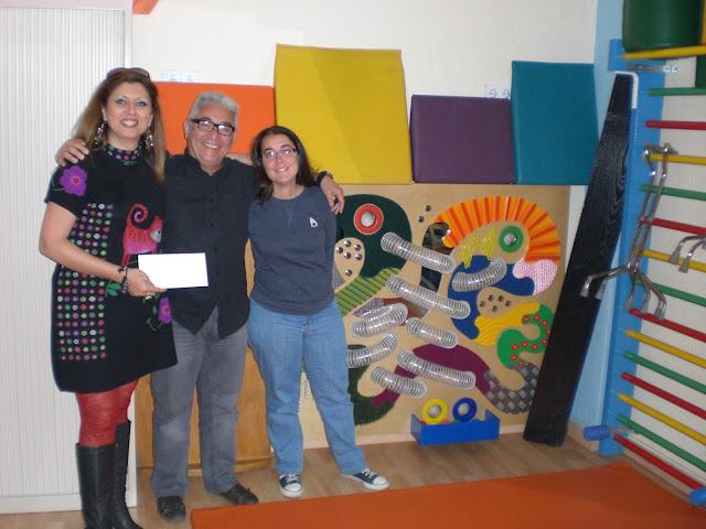 El Blog de María Serralba - Proyecto María entrega donativo a A.E.B.H.A.