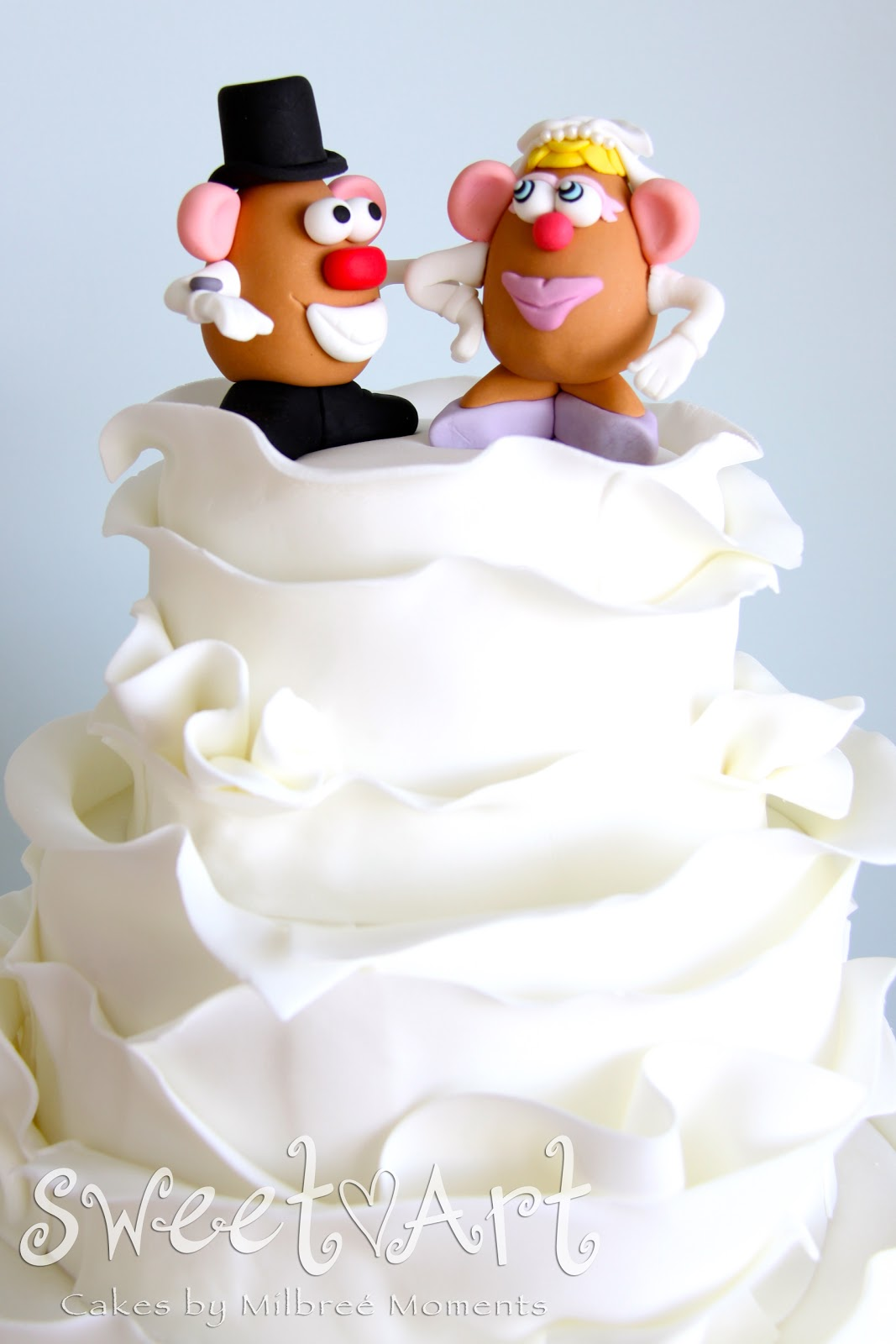 Sweet Art Cakes by Milbreé Moments: Mr & Mrs Potato Head: Franz ...