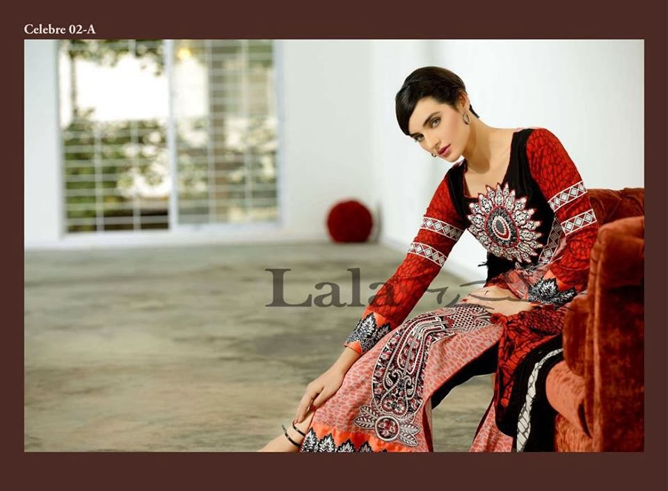 Sana & Samia New Celebre Woolen Shawl Collection 2013-2014 by LALA For Women And Girls