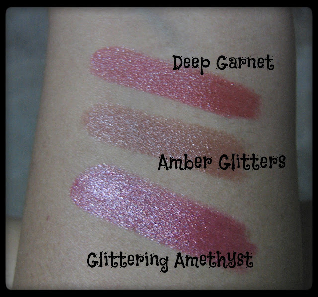 Avon Simply Pretty Lipstick Swatches 2