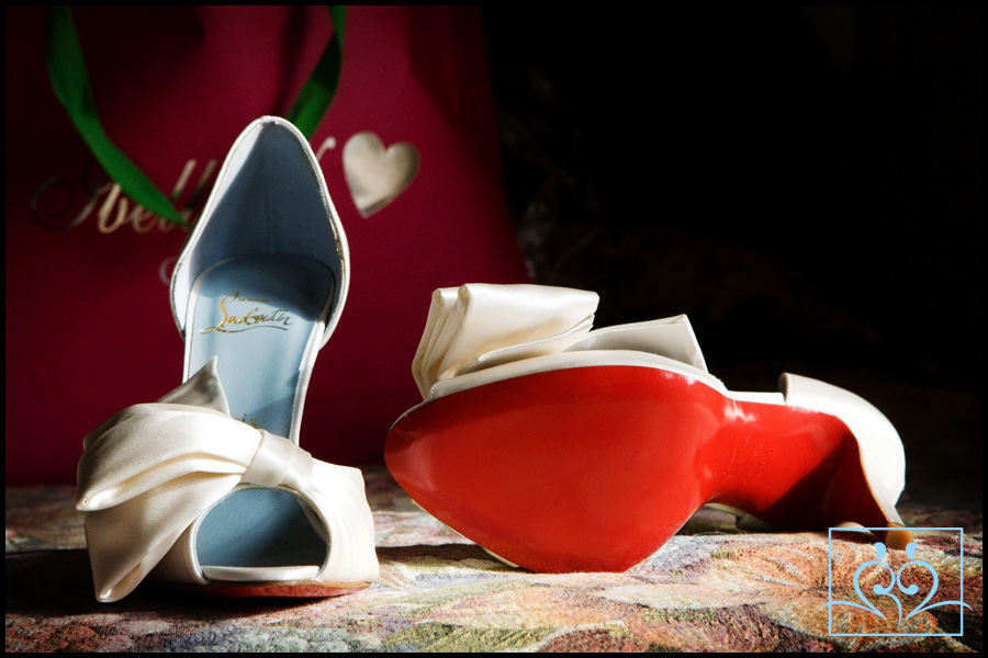 CHRISTIAN LOUBOUTIN These wedding shoes