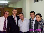 الموظفون الاداريون معى وائل واحمد ثم علاء واحمد