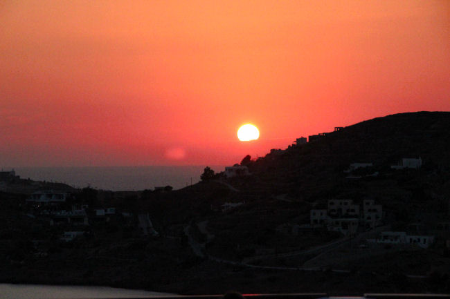 Ios island, Greece. Natural beauty of Ios island. Sunset in Ios. What to see in Ios. Visit Ios.