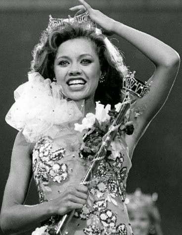 Vanessa Williams First Black Miss America 1984