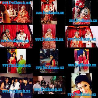 roopashree kannada actress marriage photos