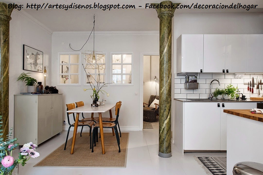 Como ubicar la cocina y el comedor unidos decoraci n del for Como ubicar la heladera en la cocina