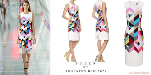 Princess Victoria Style Preen By Thornton Bregazzi-Pencil Issy Dress