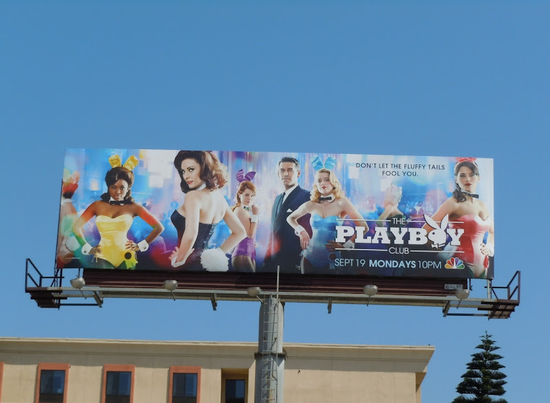 The Playboy Club billboard