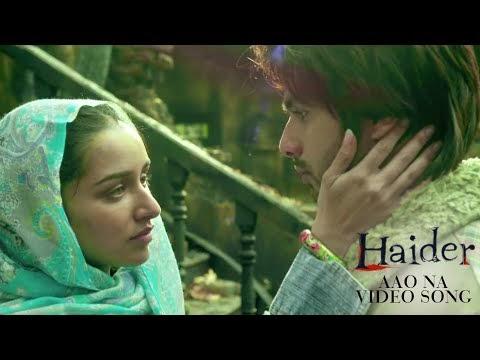 Aao Na (Video Song) Haider (2014) - Shahid Kapoor, Shraddha Kapoor