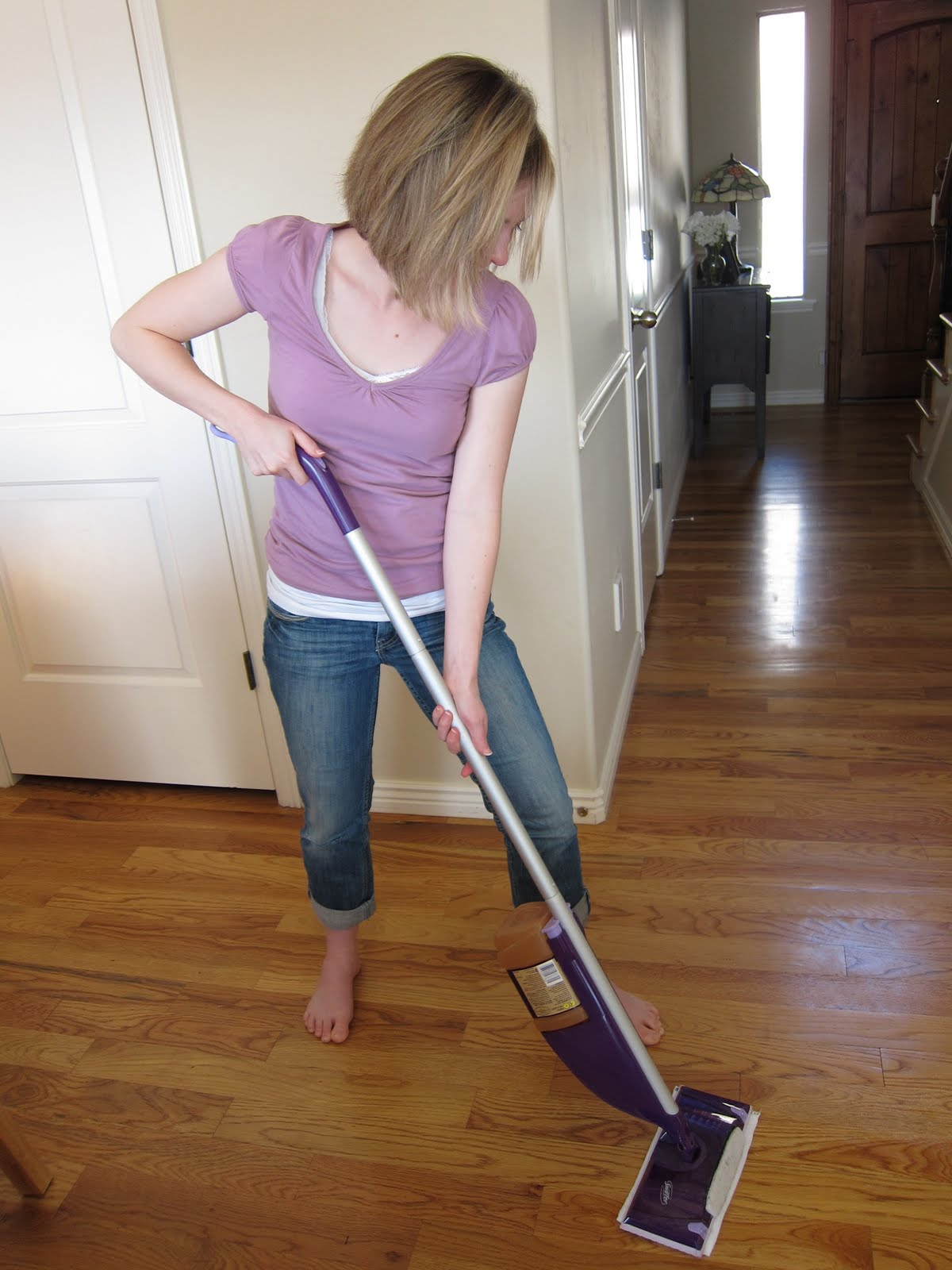 diy reusable swiffer wet jet pad - Swiffer Mop