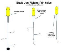 Catfish bait catfish jugging for Jug line fishing