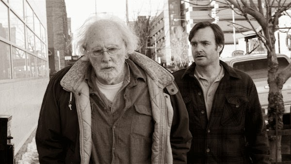 Will Forte and Bruce Dern in Nebraska