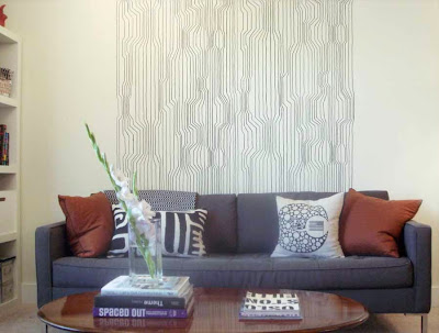 Wallpaper dinding ruang tamu