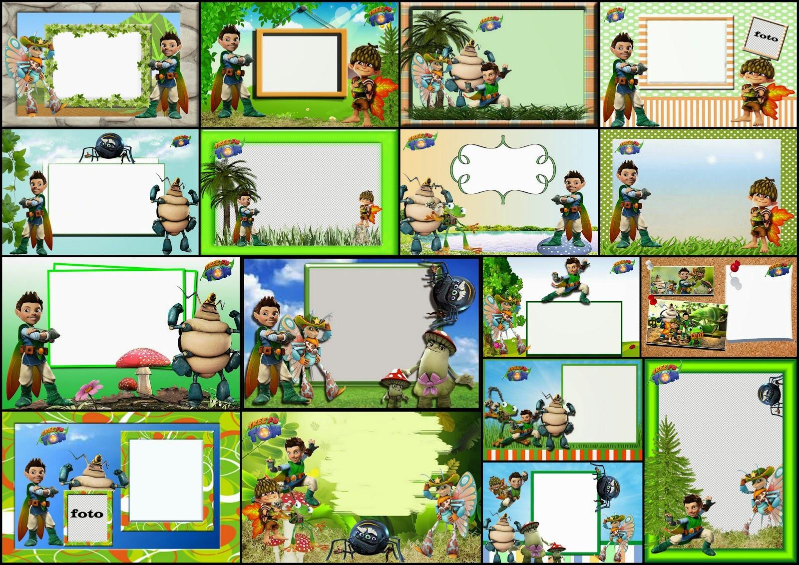 Tree Fu Tom Free Printable Invitations Cards Or Photo Frames Oh