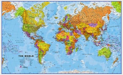 pengertian peta, komponen peta
