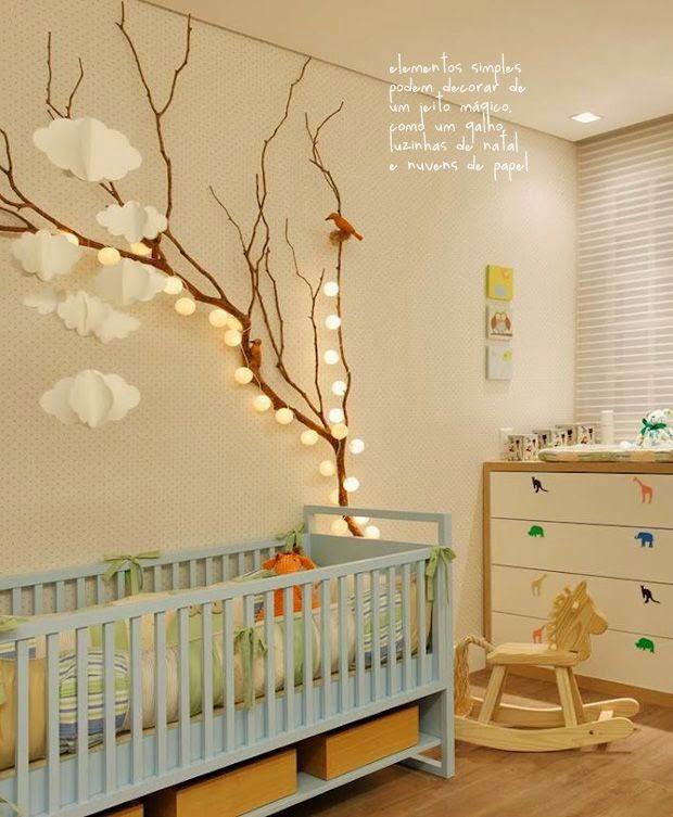 Nuvens na decoração dos quartos infantis!!  Jeito de Casa  Blog de Decoração