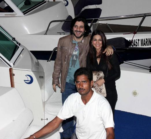 Hrithik Roshan's Birthday Celebration On A Luxury Yacht