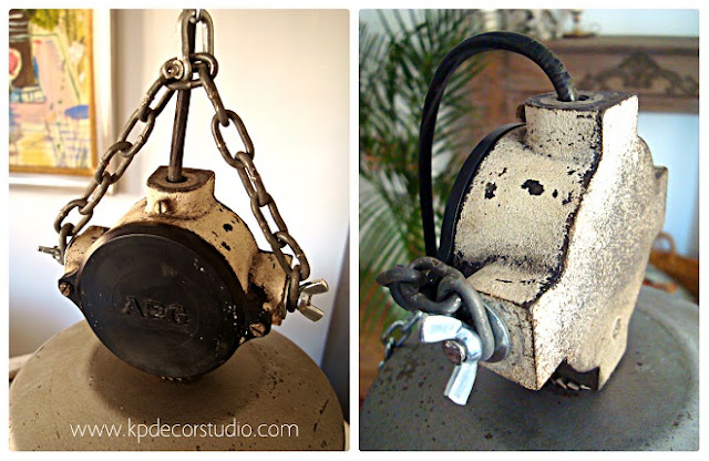Lámparas y focos estilo industrial