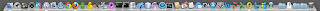 My Retina MacBook Pro's Dock