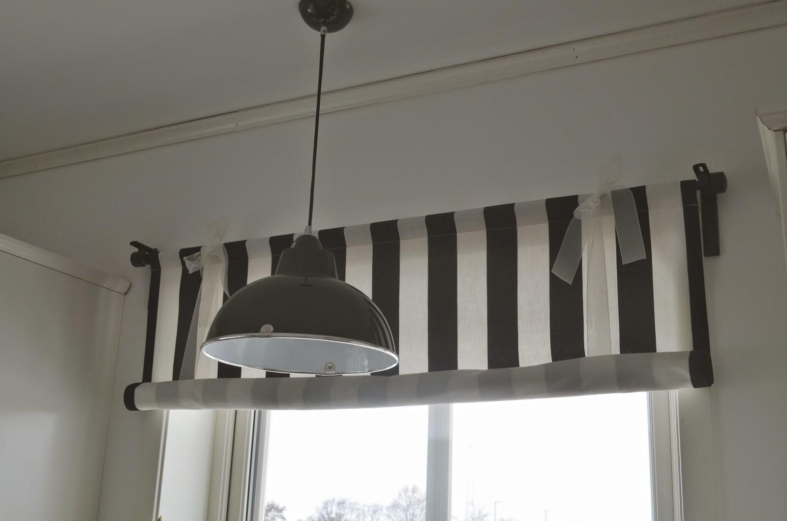 Deko hus: einblick in unsere küche und ein diy für rollos