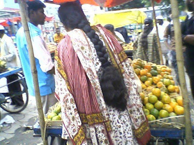 long hair girl from Tamil Nadu