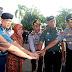 Jelang Lebaran, Tiga Pilar Gelar Apel Pasukan Untuk Keamanan Surabaya