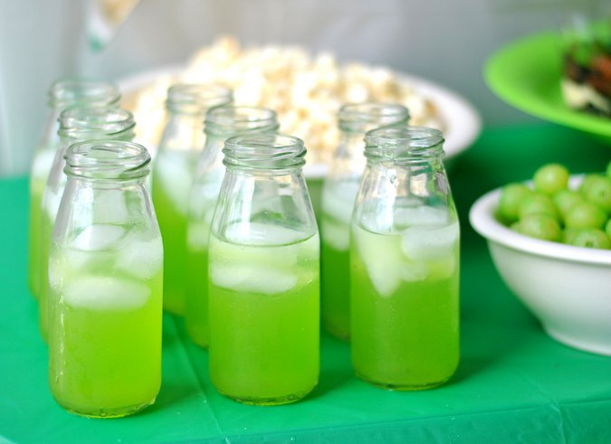 green theme field day party
