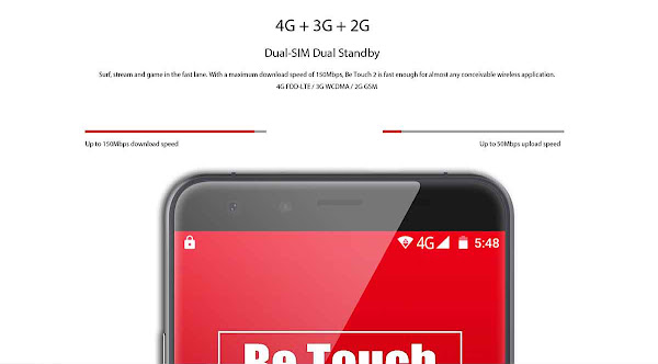 Ulefone Be Touch 2 - Connectivity