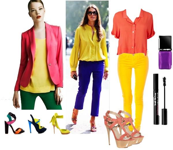 awesome en rsum le jaune se porte facilement ce que luon croit on a surtout pas luhabitude de le voir et de le porter with avec quelle couleur associer le - Quelle Couleur Va Avec Le Jaune
