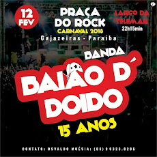 DIA 12/FEV. (CARNAVAL) NA PRAÇA ALTERNATIVA DO ROCK