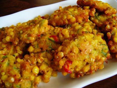 dapur afiqa perkedel jagung