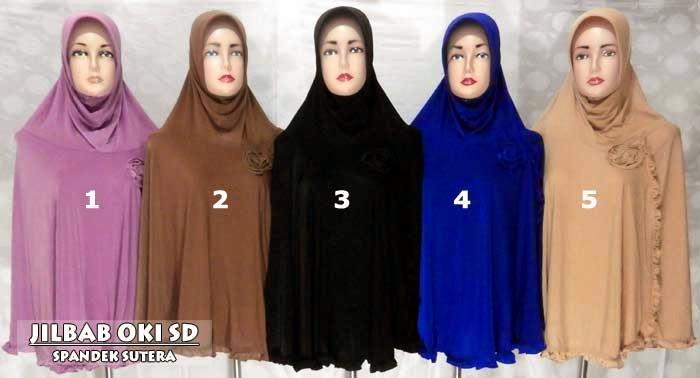 Model Jilbab Syari Terbaru 2014