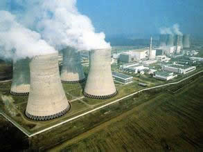 The nuclear power plants