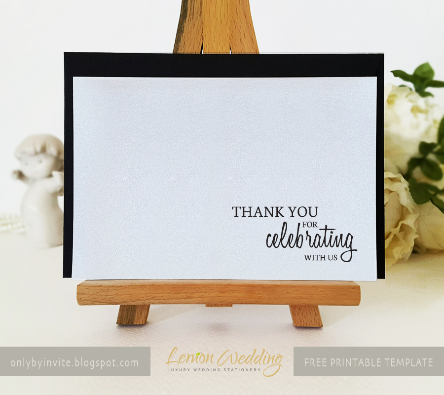 Free Printables For Happy Occasions Diy Thank You Cards