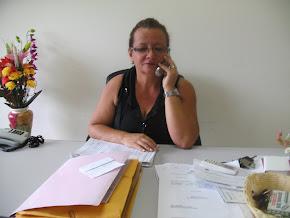Diretora do hospital Anísia Aragão.