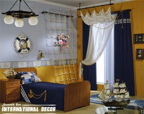 boys room ideas in marine style