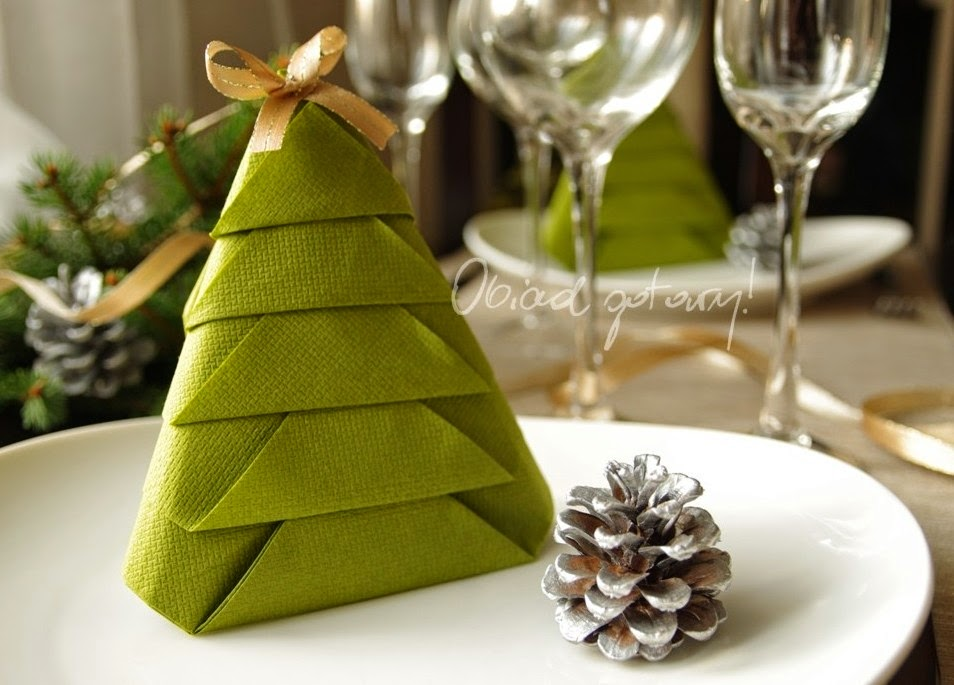 Napkin Christmas Tree