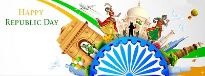 Happy Republic Day India 26th January 2017 Speech, Essay, Wishes, Status, Quotes