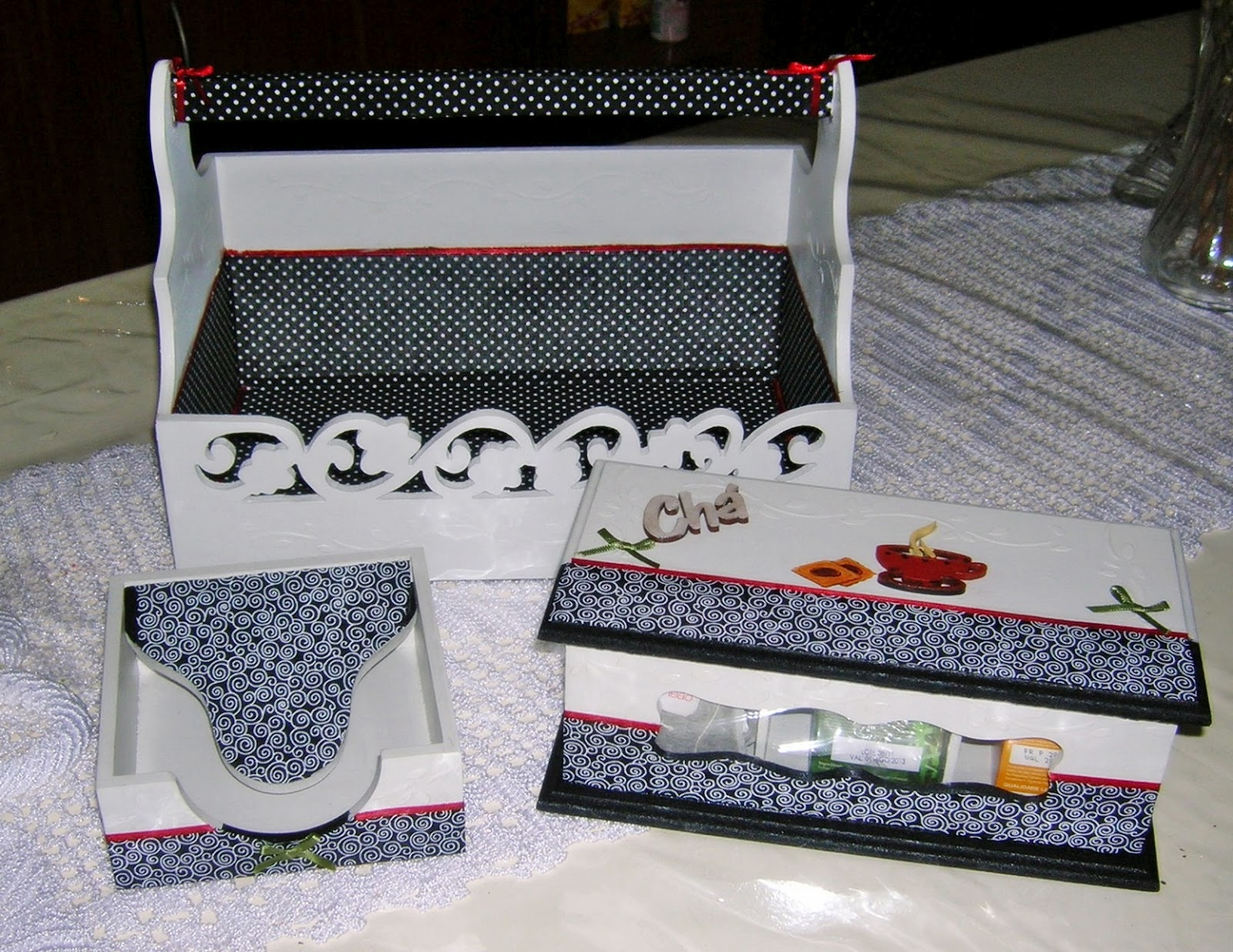 kit decoracao cozinha:Minhas Criações: Kit Cozinha em Branco e Preto