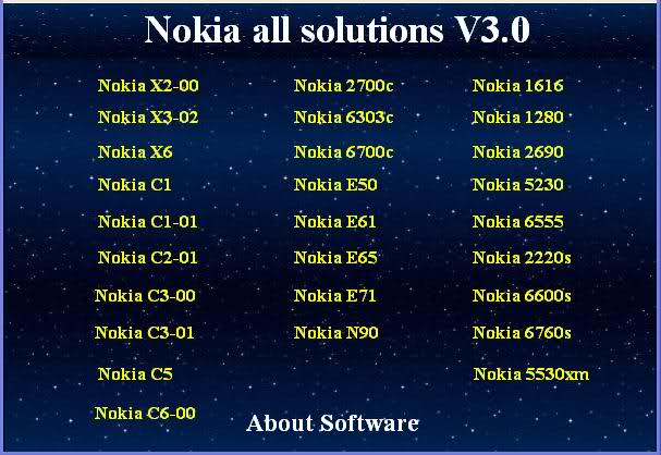 Nokia 1280 Default Security Code