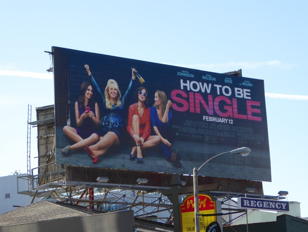 How to be Single movie billboard